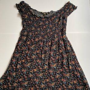 Tilly's Off The Shoulder Floral Dress